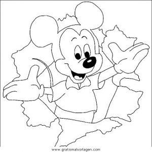 disney micky maus 024 gratis malvorlage in comic  trickfilmfiguren, disney micky maus - ausmalen