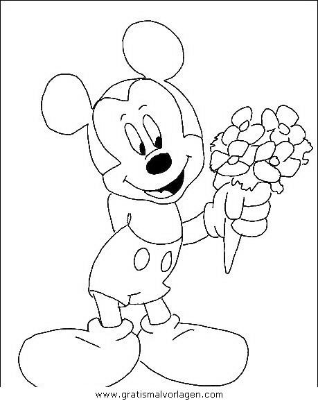 disney micky maus 025 gratis malvorlage in comic
