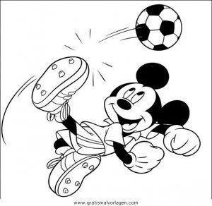 Disney Micky Maus 028 Gratis Malvorlage In Comic Trickfilmfiguren
