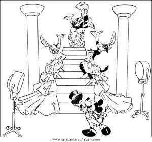 disney micky maus 042 gratis malvorlage in comic  trickfilmfiguren, disney micky maus - ausmalen