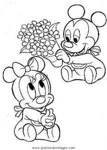 Disney Micky Maus 062 Gratis Malvorlage In Comic Trickfilmfiguren Disney Micky Maus Ausmalen