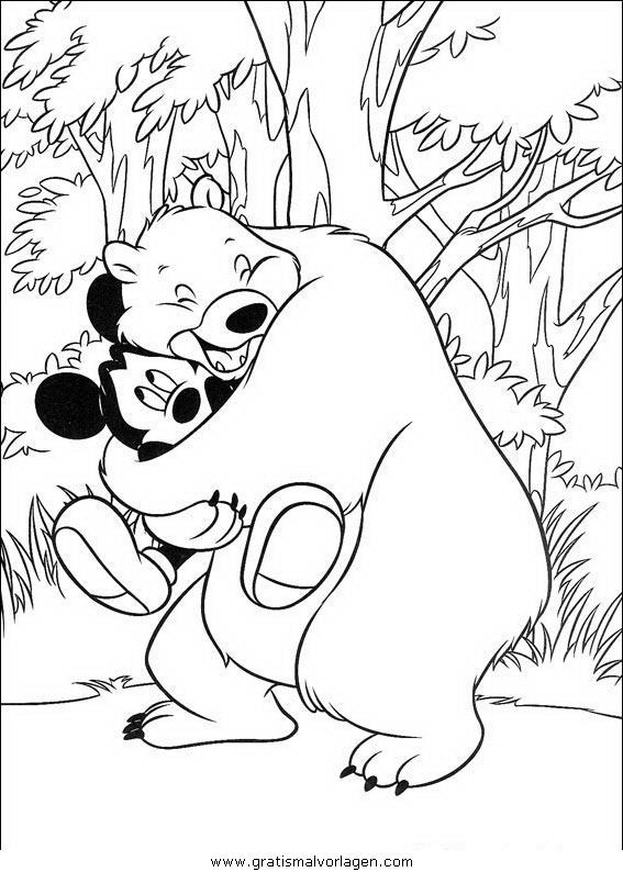 disney micky maus 110 gratis malvorlage in comic