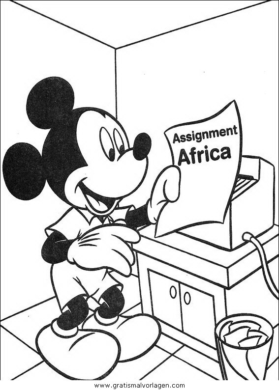 disney micky maus 115 gratis malvorlage in comic