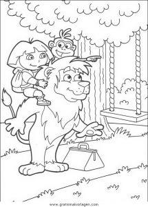 Malvorlage Dora dora 31
