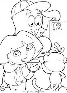 Malvorlage Dora dora 66