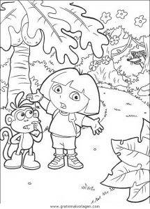 Malvorlage Dora dora 87