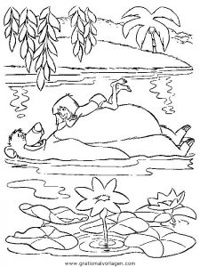 dschungelbuch003 gratis malvorlage in comic