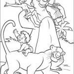Dschungelbuch Malvorlagen Zum Ausmalen Fur Kinder
