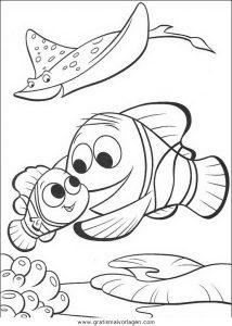 Findet Nemo 70 Gratis Malvorlage In Comic Trickfilmfiguren