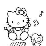 Hello Kitty Malvorlagen Zum Ausmalen Für Kinder