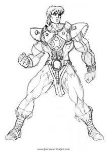 Malvorlage He-Man he-man 05
