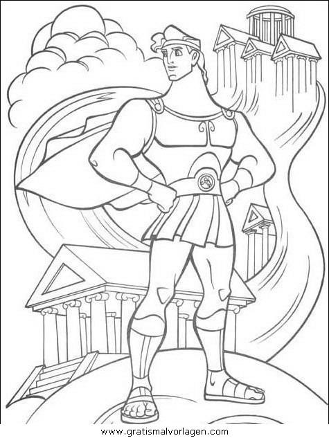 herkules18 gratis Malvorlage in Comic & Trickfilmfiguren, Herkules ...