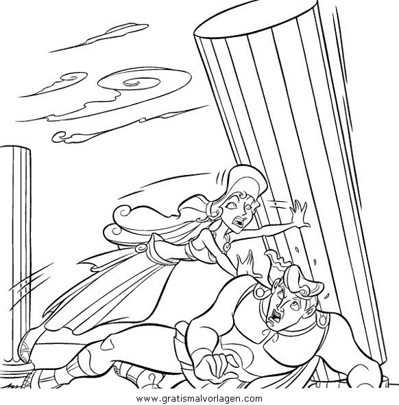 herkules22 gratis malvorlage in comic  trickfilmfiguren