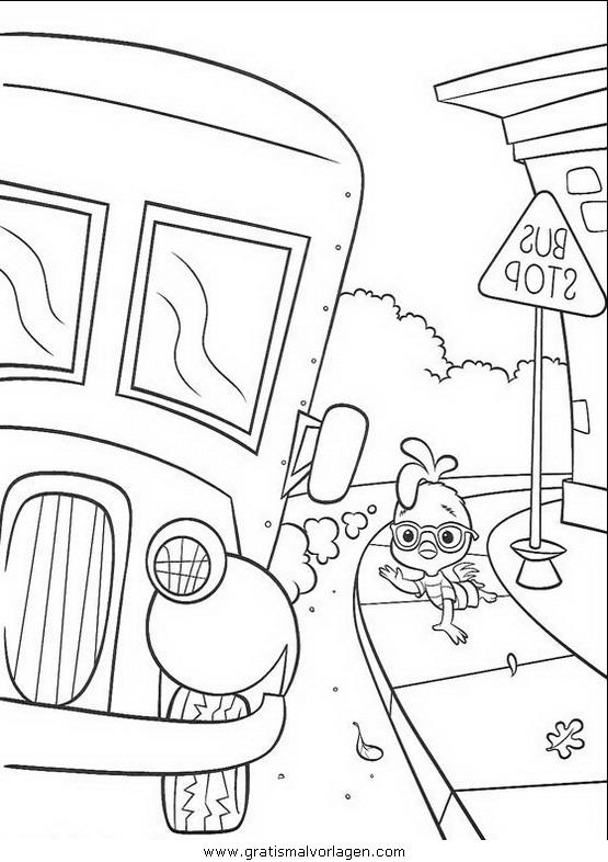 himmel und huhn 03 gratis malvorlage in comic