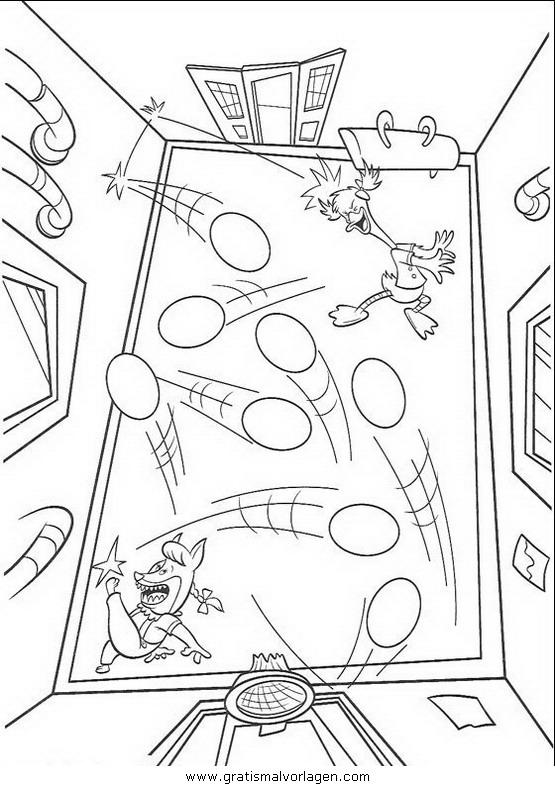 himmel und huhn 09 gratis malvorlage in comic