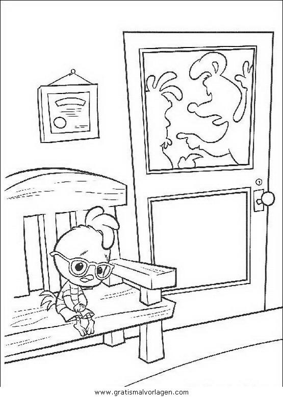 himmel und huhn 12 gratis malvorlage in comic