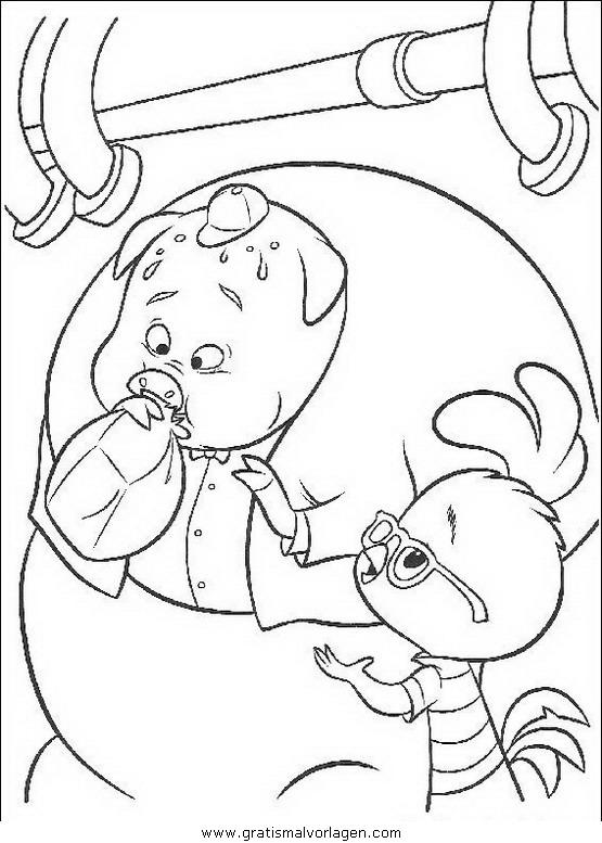 himmel und huhn 34 gratis malvorlage in comic