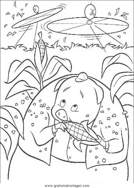 himmel und huhn 35 gratis malvorlage in comic