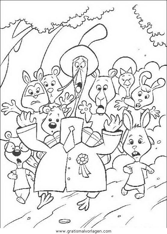 himmel und huhn 41 gratis malvorlage in comic
