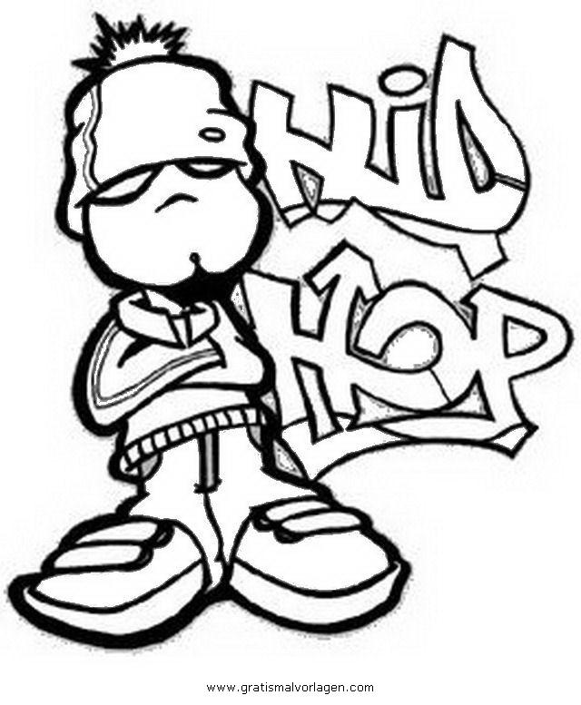 hip-hop-3 gratis Malvorlage in Beliebt10, Diverse Malvorlagen - ausmalen