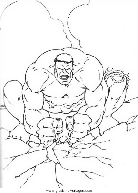 hulk 13 gratis malvorlage in comic  trickfilmfiguren