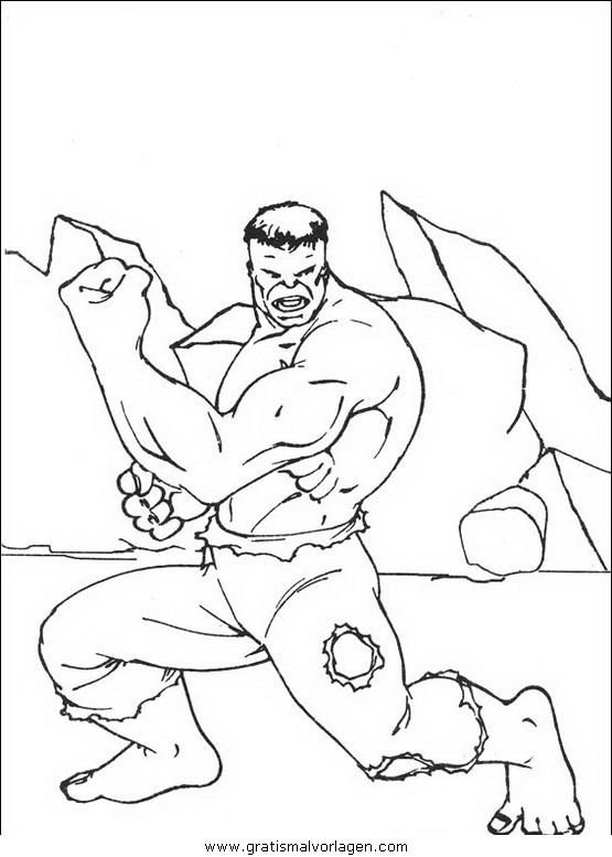 hulk 22 gratis malvorlage in comic  trickfilmfiguren