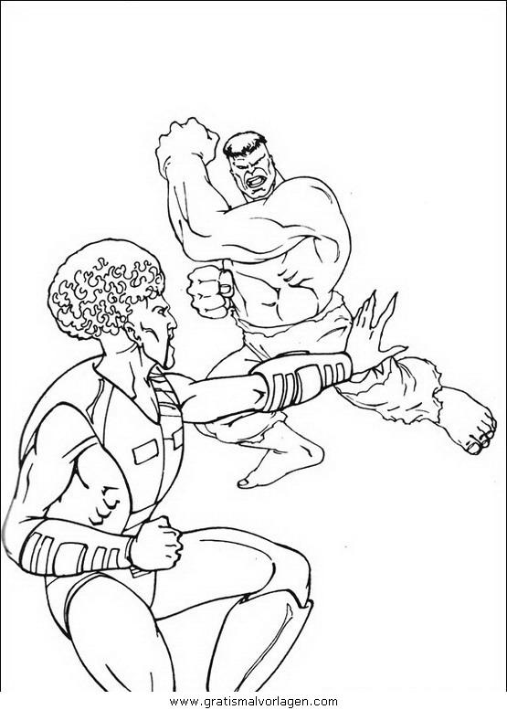 hulk 28 gratis malvorlage in comic  trickfilmfiguren