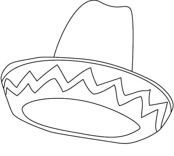 Sendung Maus 09 Gratis Malvorlage In Comic: Sombrero 1 Gratis Malvorlage In Diverse Malvorlagen