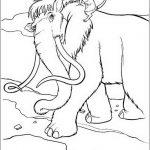 Ice Age Malvorlagen Zum Ausmalen Fur Kinder