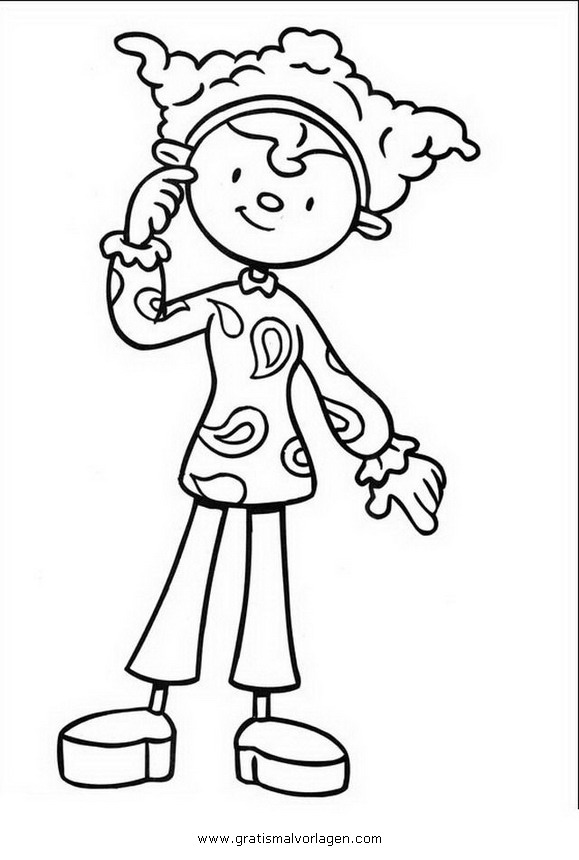 clifford at the circus coloring pages | jojo-circus-17 gratis Malvorlage in Comic ...