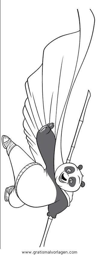 kung fu panda 19 gratis malvorlage in comic