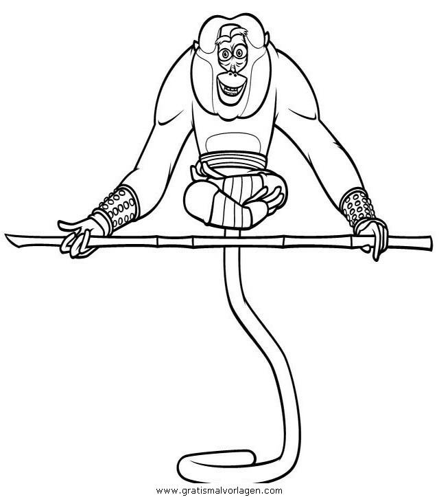 kung fu panda 22 gratis malvorlage in comic