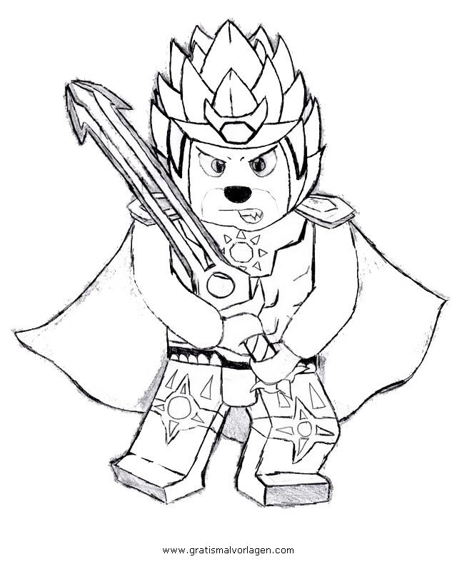 lego-chima-09 gratis Malvorlage in Comic & Trickfilmfiguren, Lego ...