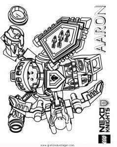 Lego Nexo Knights 20 Gratis Malvorlage In Comic Trickfilmfiguren