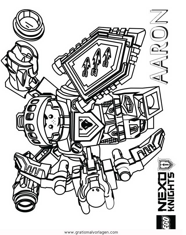 Lego Nexo Knights 20 Gratis Malvorlage In Comic