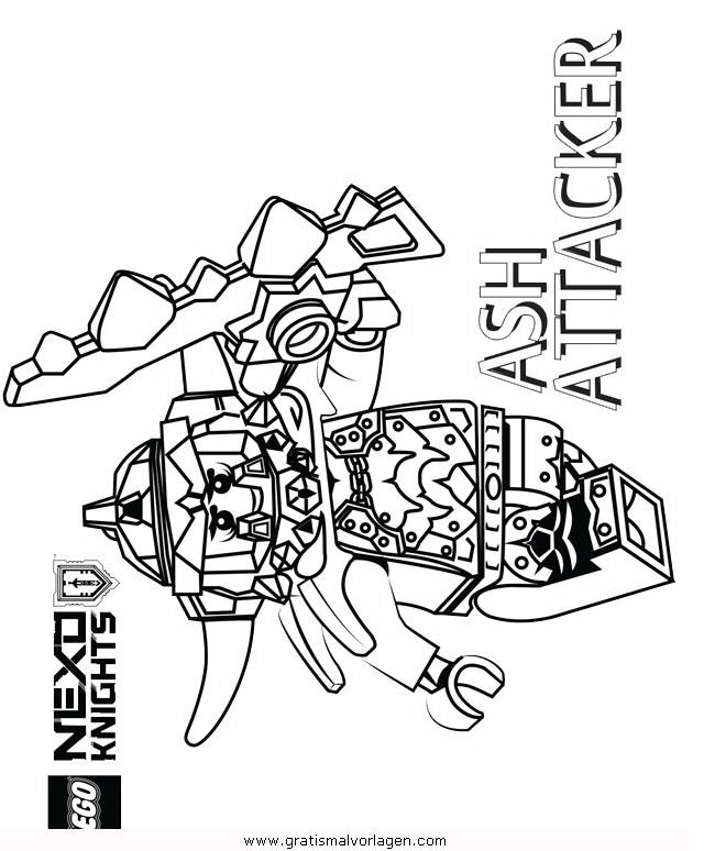 lego-nexo-knights-21 gratis malvorlage in comic