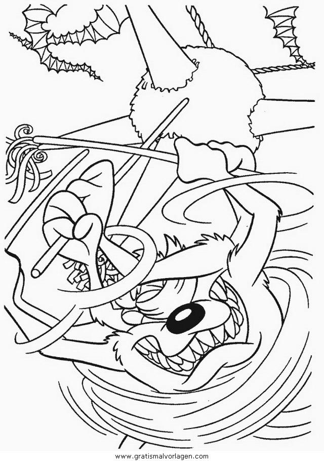 looney toons 43 gratis malvorlage in comic