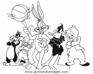 Looney toons 61 gratis malvorlage in comic for Looney tunes thanksgiving coloring pages