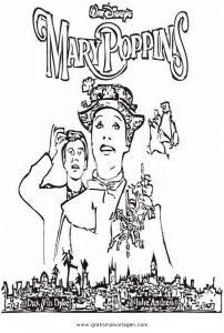Mary Poppins 00 Gratis Malvorlage In Beliebt05 Diverse