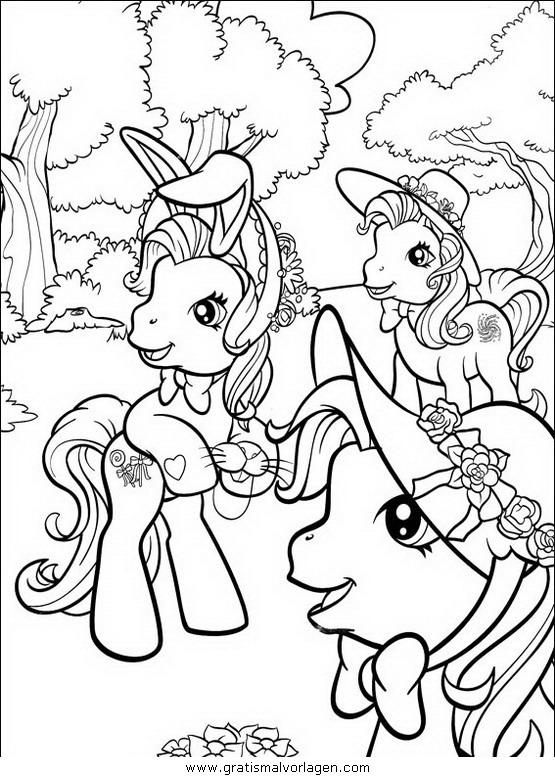 Mein Kleines Pony73 Gratis Malvorlage In Comic