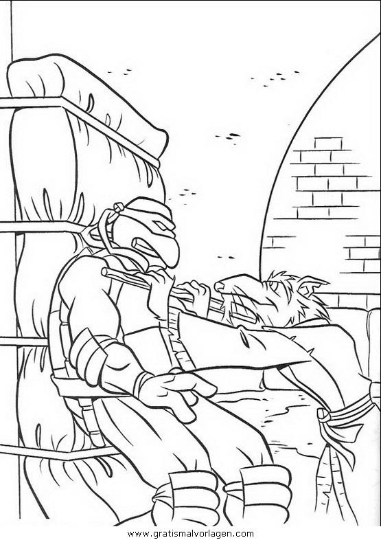 ninja turtles16 gratis malvorlage in comic