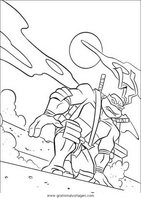 ninja turtles39 gratis malvorlage in comic