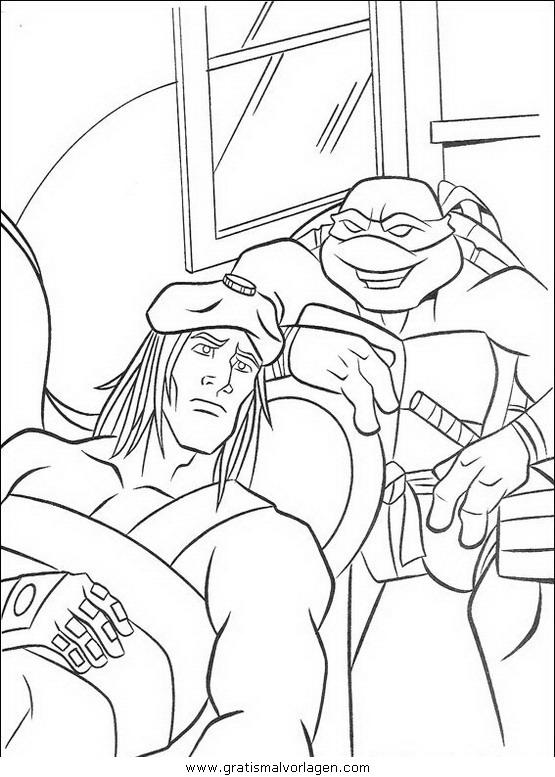 ninja turtles54 gratis malvorlage in comic