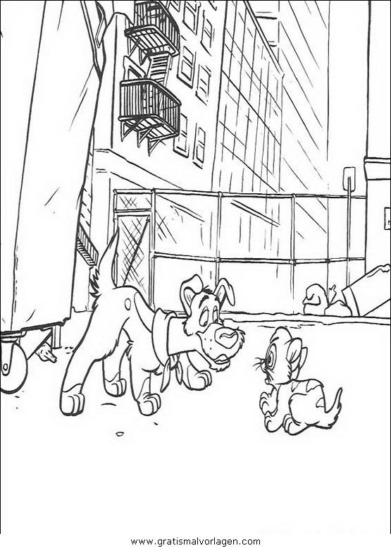 oliver company 32 gratis malvorlage in comic