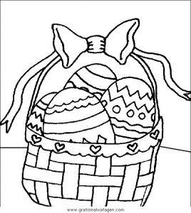 Malvorlage Ostern pasqua 078