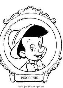 Malvorlage Pinocchio pinocchio 29