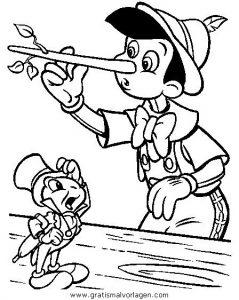 Malvorlage Pinocchio pinocchio 32