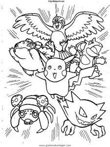 Malvorlage Pokemon pokemon 148