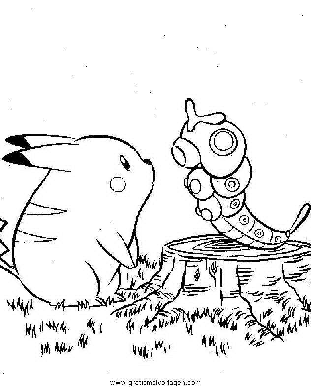 Pokemon Lugia2 Gratis Malvorlage In Comic: Pokemon 154 Gratis Malvorlage In Comic & Trickfilmfiguren