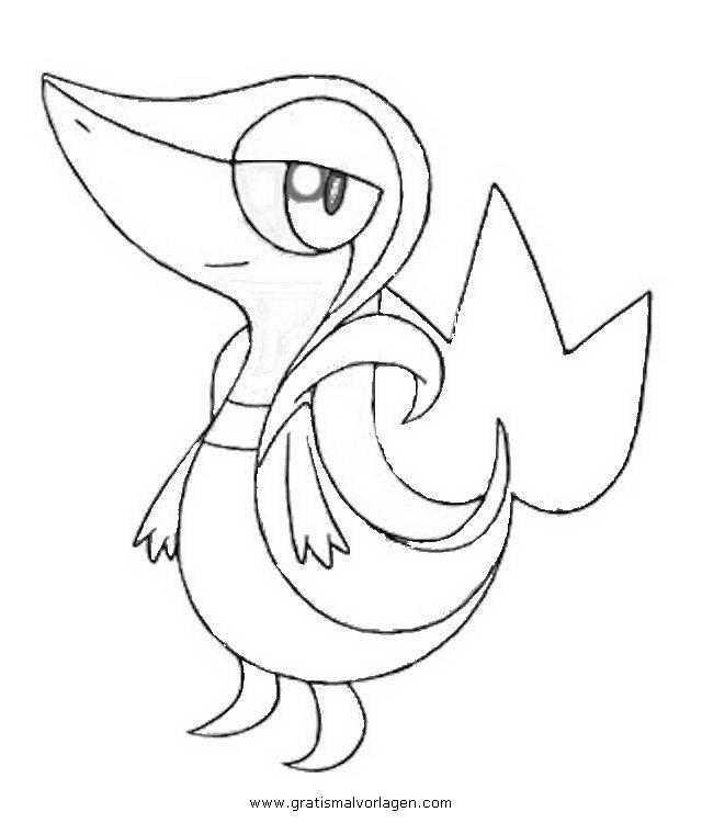 Pokemon Serpifeu 2 Gratis Malvorlage In Comic